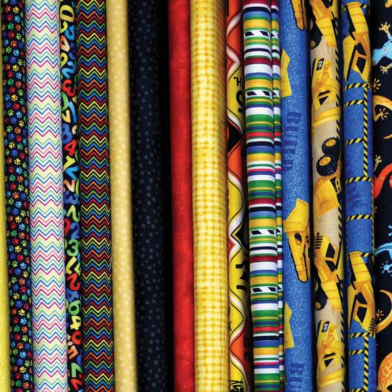 Fabric for sewing and quilting