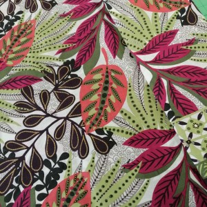 jamican flower cotton fabric
