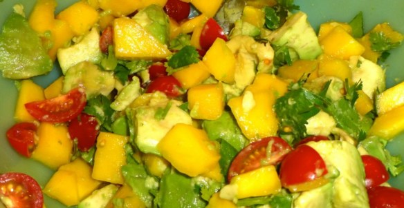 Mango Avocado Salad