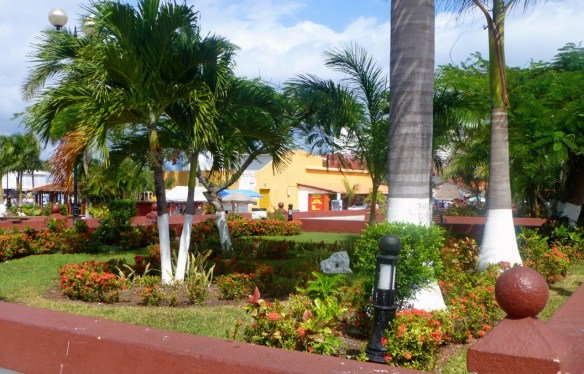 Plaza in Cozumel, Mexico