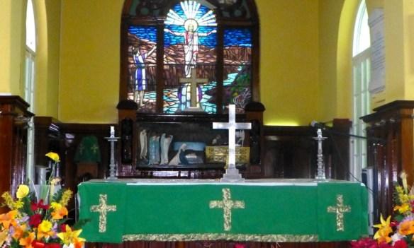 St. John's Church Altar, Belize