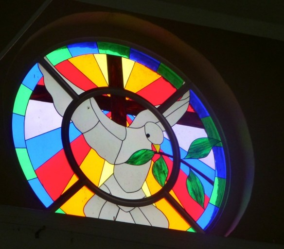 St John's Cathedral, Belize, Stained Glass