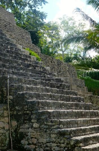 Steps - Chacchoben Mayan Ruins