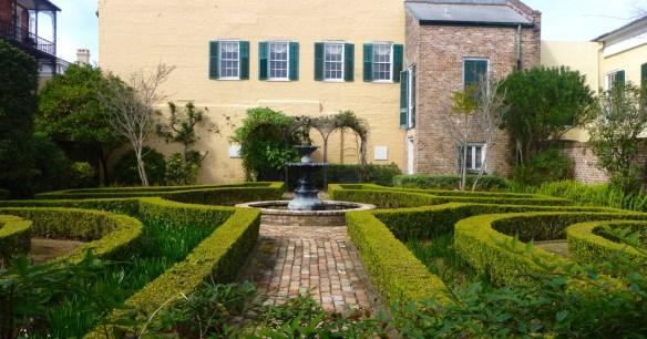 Garden, New Orleans, Louisiana