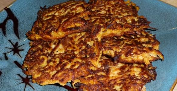 Sweet Potato Latke