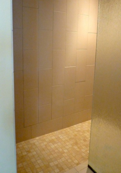 New Shower Stall