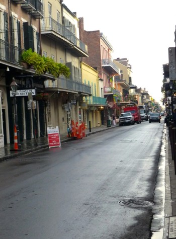 Street in the French Quarter, New Orleans