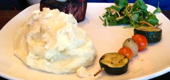Tenderloin Filet with Horseradish Mashed Potatoes