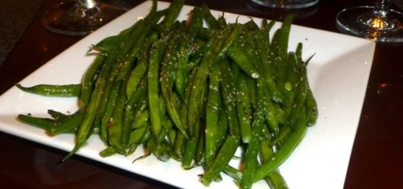 Sheraton Restaurant - Green Beans