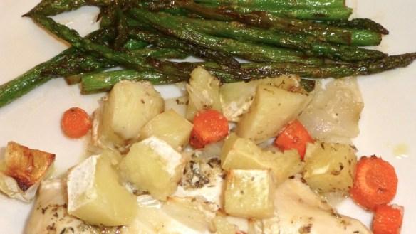 Chicken Potato Vegetable Bake
