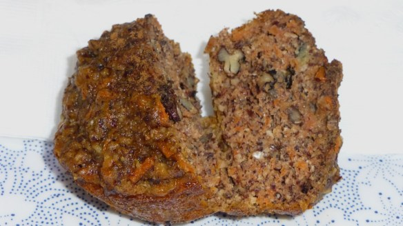 Gluten Free Paleo Carrot Muffins