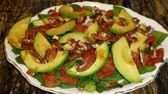 Blood Orange and Avocado Salad