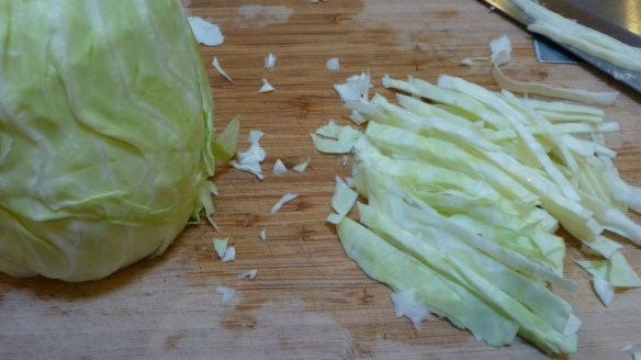 Slice Cabbage