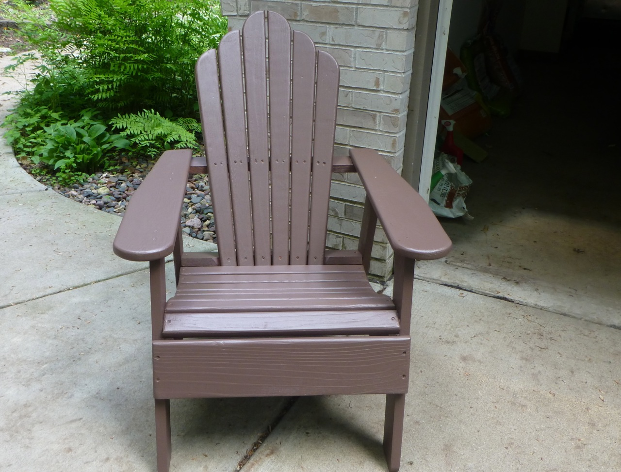 Refinishing An Adirondack Chair Simply Norma
