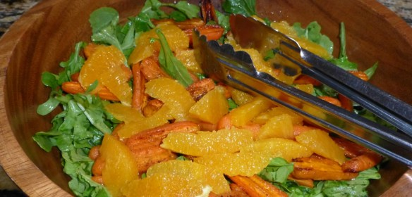 Roasted Carrot & Blood Orange Salad