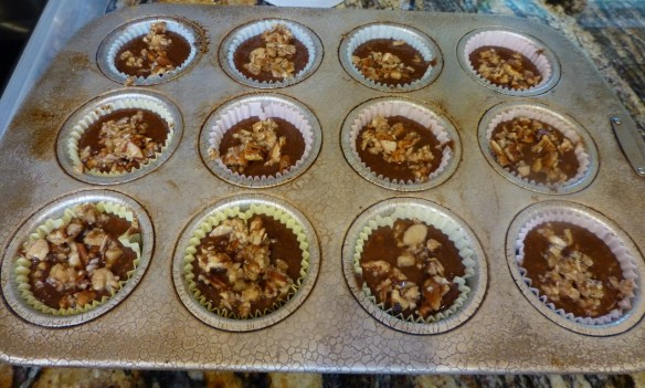 Muffins with Topping