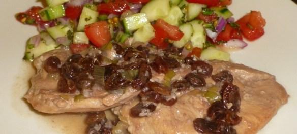 Pomegranate Chicken - Paleo