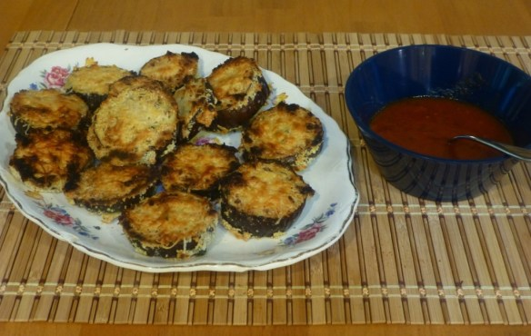 Baked Eggplant Dippers