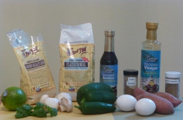 Paleo Vegetarian Ingredients