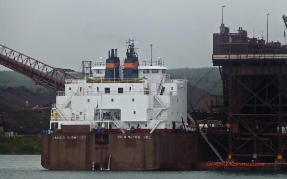 James R Barker, Ship