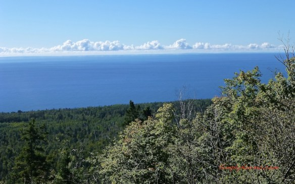 View of Lake Superior, Oberg Trail