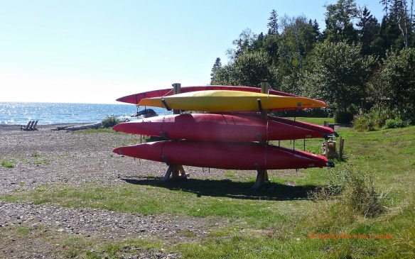 Lutsen Resort Kayaks