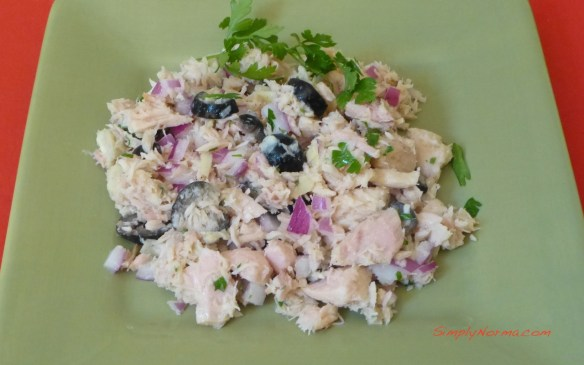 Tuna Salad with Artichokes