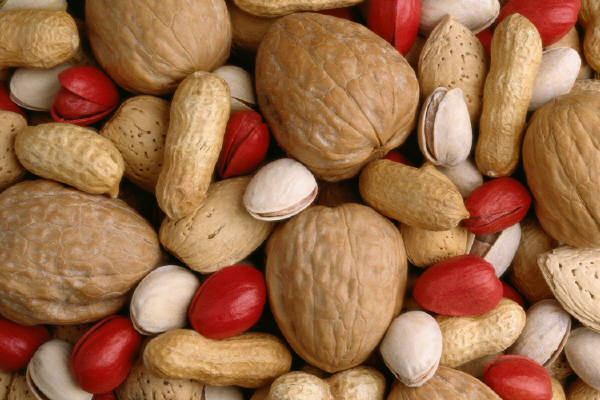 Nuts (Courtesy, Microsoft Free Images)