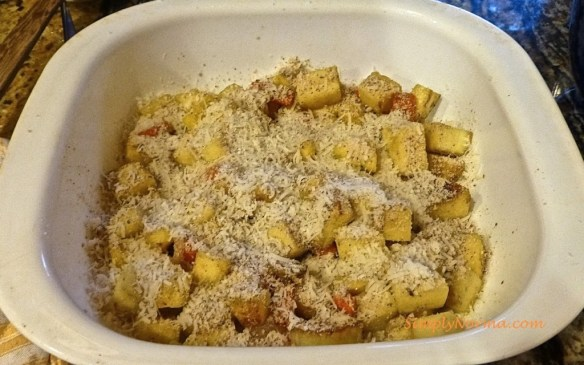 Add Grated Parmesan