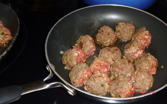 Fry the Chipotle Meatballs