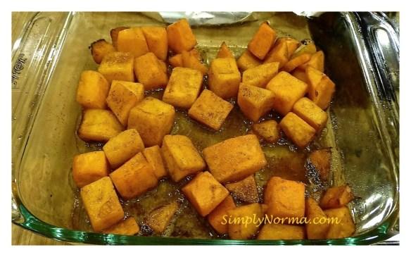 Bake the Butternut Squash