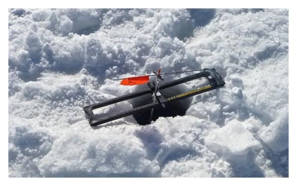 Ice Fisherman's Equipment