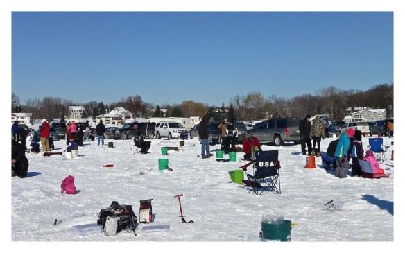 Lake Jane Ice Fishing