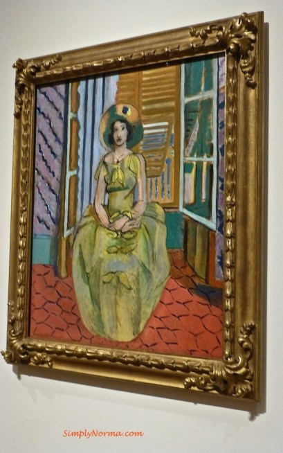 The Yellow Dress, Matisse, 1929-1931