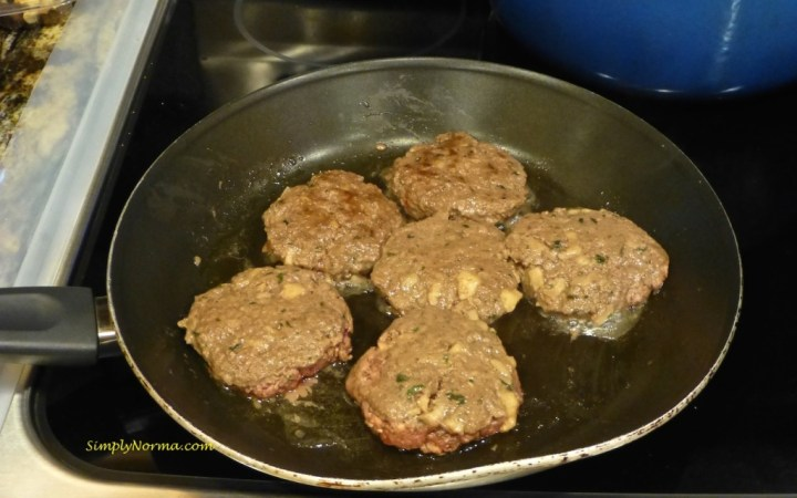Cook the burgers all the way through
