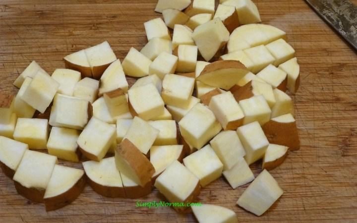 Sweet Potato - Bite Size Pieces