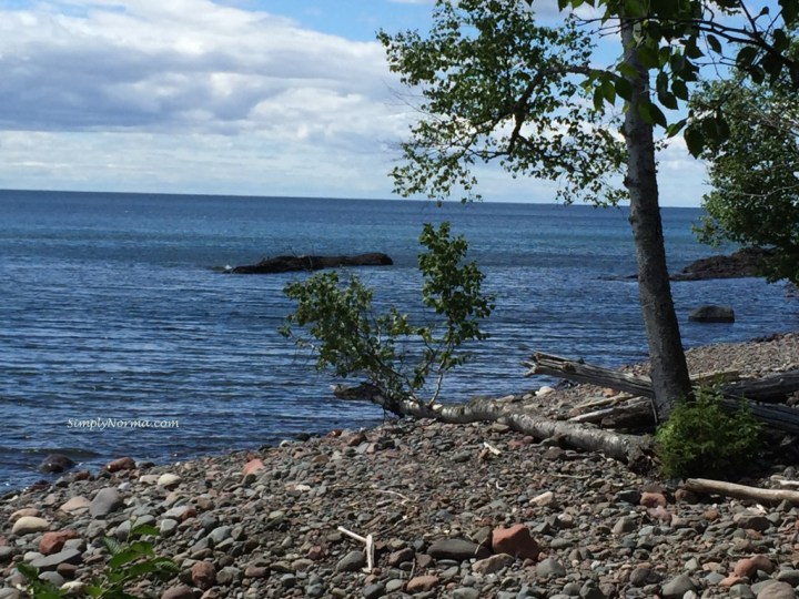 Lake Superior from Sugarloaf Cove, MN