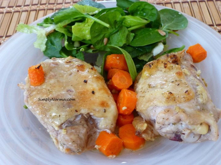 Braised Chicken with Rosemary & Carrots