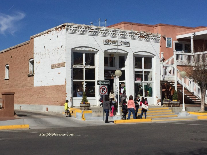 Old Downtown Albuquerque 1st Church Building