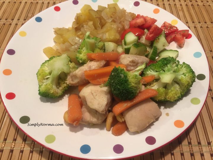 Chicken Fillets with Vegetables