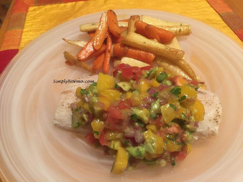 Mahi Mahi with Mango Salsa