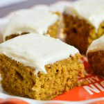 Pumpkin Cake Cream Cheese Frosting