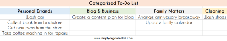 Categorized-To-Do-List-Simply-Organize-Life