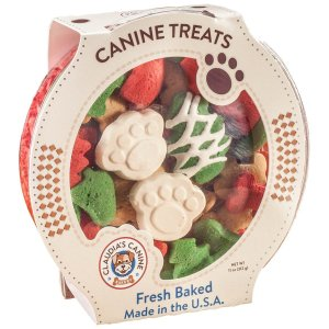 Buy Christmas Dog Cookies by Caudia's Santa Paws as a special holiday treat or pet stocking stuffer