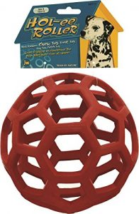 Simply Pets Hol-ee Roller Dog Ball Review 2018 for a wonderful dog toy for catch and fetch.