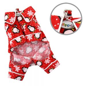 Simply Pets Review of flannel dog pajamas to make your Christmas gift-giving a snap to all your friends who are dog owners.