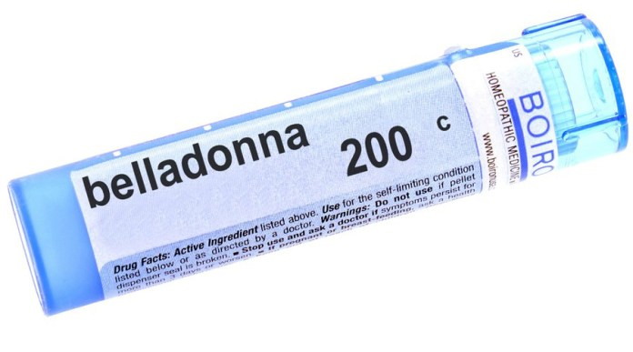 Belladonna 200c