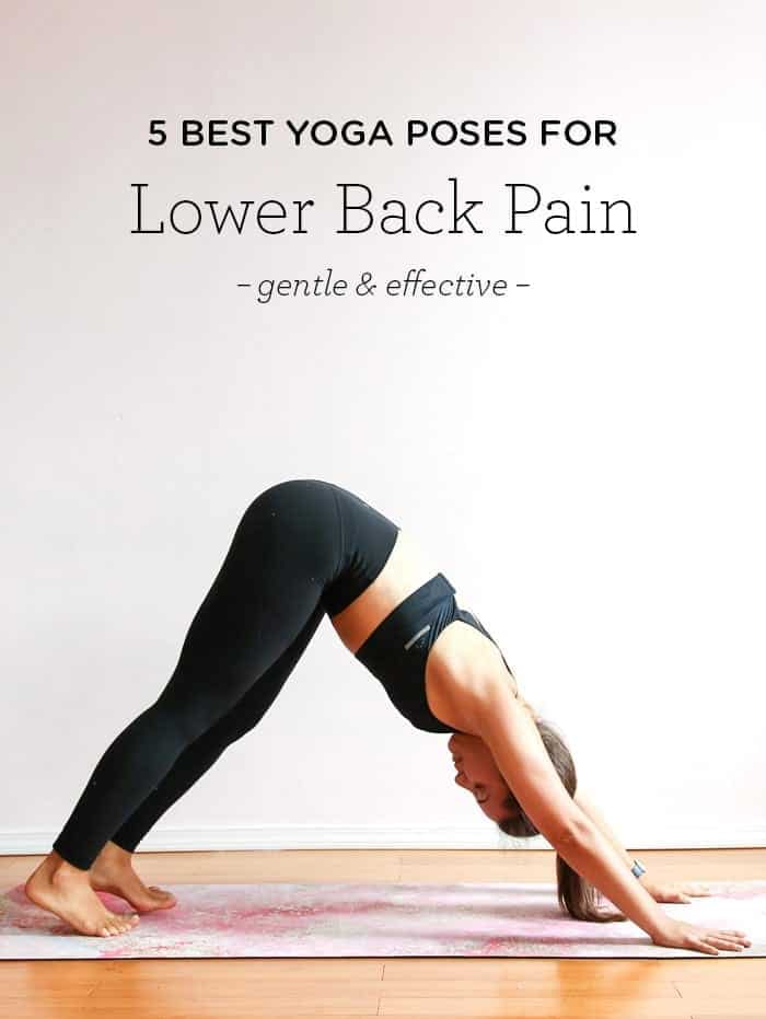 5 postures de yoga pour les douleurs lombaires