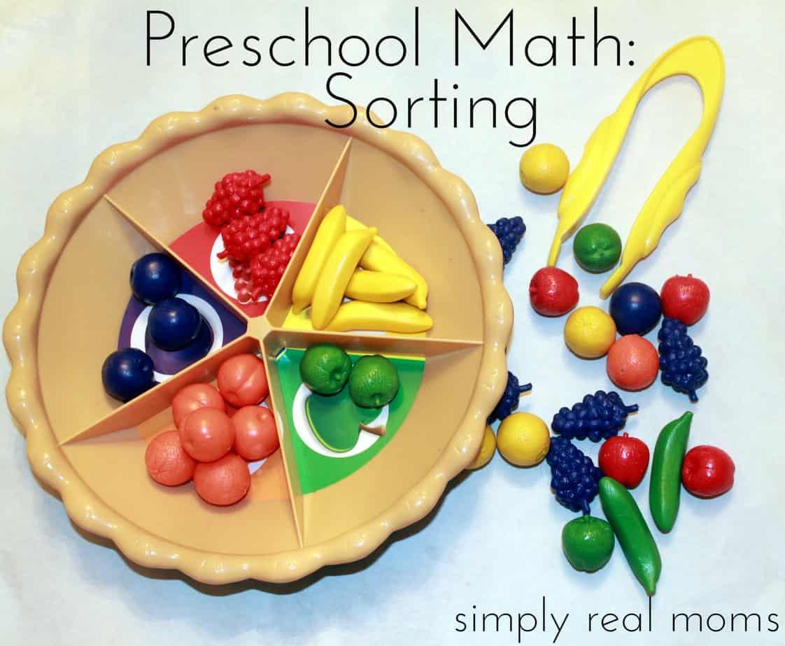 Preschool Math Sorting