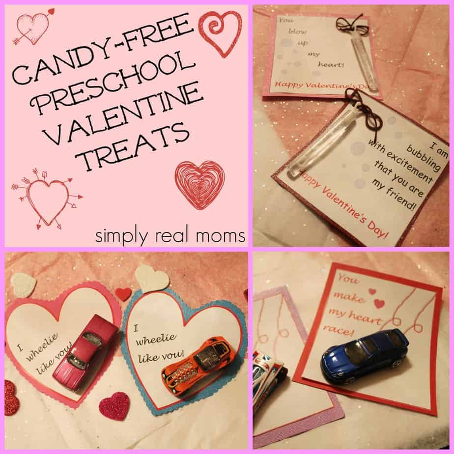Candy Free Preschool Valentine Treats